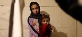 BILD vor Ort in Bosnien - Familien auf der Flucht vor Gewalt und Kälte
