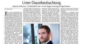 """Rezension von Johann Scheerers Roman """"Unheimlich nah"""""""