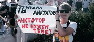 """130 Tage Protest in Belarus - """"Das Licht wird immer gewinnen"""""""