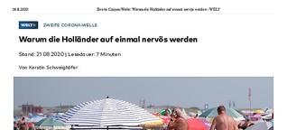 Corona: Warum die Holländer auf einmal nervös werden