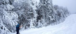 Schwarzwald: Allein auf weiter Piste