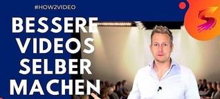 Video selber machen in Rekordzeit für Dein Unternehmen