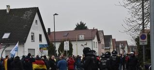 """""""Schrecklich, wie Deutschland sich teilt"""""""