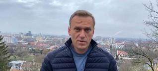 Ein Wiedergänger fordert Putin heraus