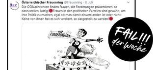 Fail der Woche: Höhöhö, schau, die Rendi-Wagner nackert!