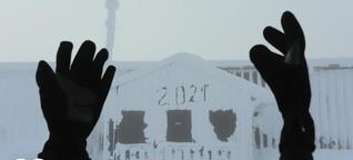 Warm anziehen: Polarwirbel sorgt für Eiseskälte