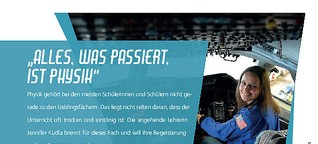 """Alles, was passiert, ist Physik"""
