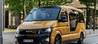 MOIA - Ridesharing-Dienst in Hamburg ausprobiert