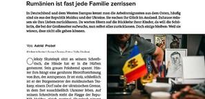 Vom Verlassen und Zurückbleiben: In der Grenzregion zwischen der Ukraine, der Republik Moldau und Rumänien ist fast jede Familie gerissen
