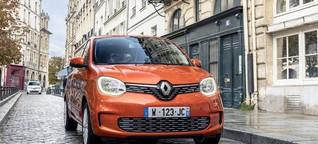 Renault Twingo Electric im Test: Winterscheuer Stadt-Stromer