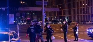 """""""Querdenken""""-Autokorso von Antifa blockiert"""