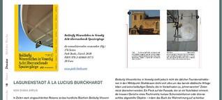 Lagunenstadt à la Lucius Burckhardt – Beiläufig Wesentliches in Venedig