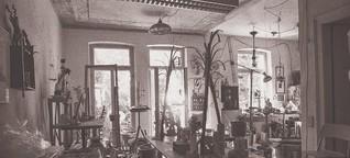 Wo Kunst entsteht - so einzigartig sind Ateliers | MDR.DE