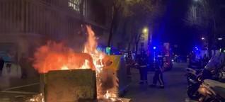 Nach Rapper-Festnahme: Proteste in Spanien
