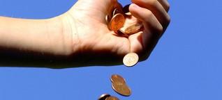Spendenbereitschaft: Gewinner und Verlierer