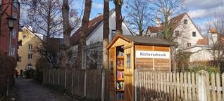Außergewöhnliche Bücherschränke in München und Oberbayern