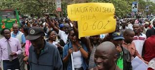 Lehrerstreik in Kenia: Kein Ende in Sicht | DW | 23.09.2015