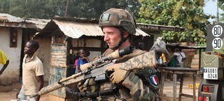 Frankreich beendet Militärmission in Zentralafrika | DW | 31.03.2016