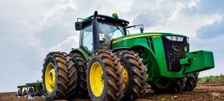 Precision Farming: John Deere und Claas verknüpfen ihre Daten