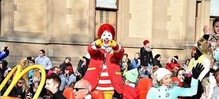 Alle hassen mich, weil ich als Veganer bei McDonald's esse