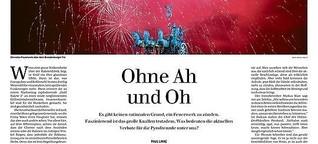 Ohne Ah und Oh