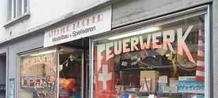 Die skurrilsten Zürcher Läden