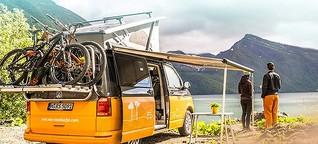 Reise-Start-ups: Das Geschäft mit der Camping-Lust