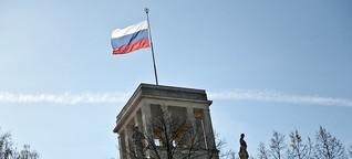 Russischer Botschafter steht Katrin Lange bei