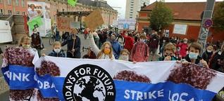 1000 Klimastreiker trotz Corona