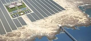 Mit Wind und Solar gegen den Wassermangel