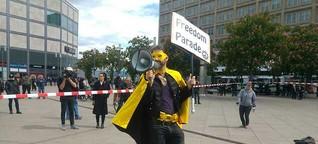 Corona-Skeptiker wollen in Potsdam protestieren