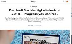 AUDI Nachhaltigkeitsbericht