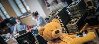 PCs für alle: Mit Schirm und LAN - Arbeit&Wirtschaft