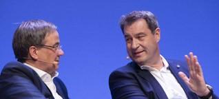 Wer kam vor Laschet oder Söder?: Das waren die bisherigen CDU/CSU-Kanzlerkandidaten