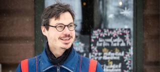 """Roman """"Immer noch wach"""" aus Stuttgart: Fabian Neidhardt, der Botschafter des Lächelns"""