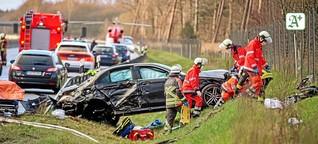 Tödlicher A7-Unfall: Wie Ersthelfer sich schützen können