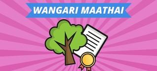 Wangari Maathai - Mutter der Bäume und Friedensnobelpreisträgerin | MDR.DE