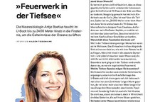Interview mit Antje Boetius