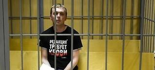 Journalist in Russland verhaftet: Unter Hausarrest