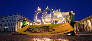 Kein Ausrufezeichen von Merkel beim Petersberger Klimadialog
