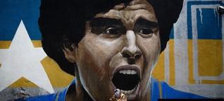 Diego Maradona: Ein Land nimmt Abschied von einem tragischen Helden