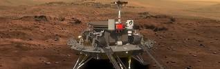 """Mars-Rover: Bald landet Chinas """"Gott des Feuers"""" auf dem Mars - WELT"""