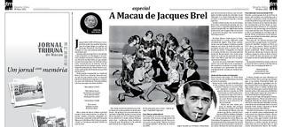 A Macau de Jacques Brel