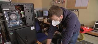Alte Rechner für bedürftige Schüler