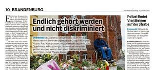 Menschen mit Behinderung prangern Diskriminierung und Machtmissbrauch an