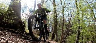 Freizeitsport : Mountainbiker im Konflikt mit Mensch und Natur