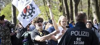 "250 Festnahmen bei ""Querdenker""-Demos - Live-Blog"