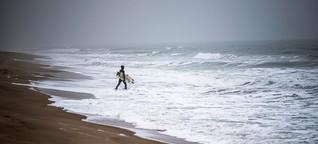 Surfen im Winter: Kalt erwischt