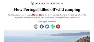 How Portugal killed off wild camping