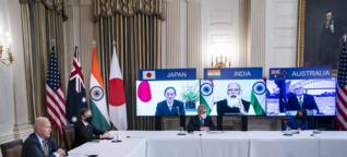 Vier gegen China - das Quad-Bündnis im Indo-Pazifik